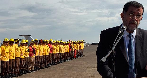 El Aeródromo de Victoria, en la Región de La Araucanía, será el primer puerto aéreo en el que CONAF podrá operar de manera autónoma para el despegue y aterrizaje de aviones y helicópteros que combaten incendios forestales en el sur del país.