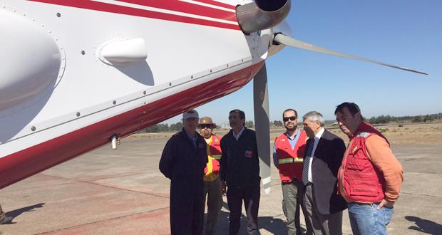 CONAF tiene un avión AT 802 F para proteger los bosques de La Araucanía