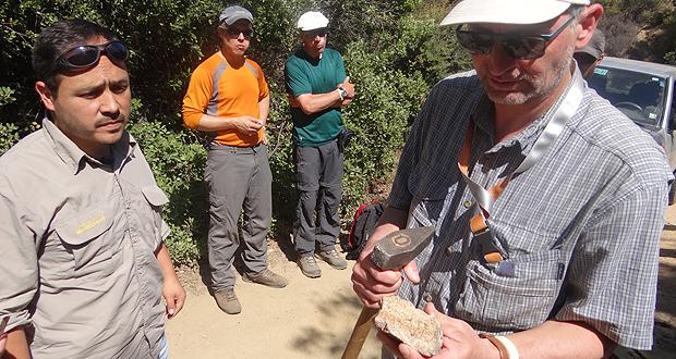 Científicos de diferentes nacionalidades y disciplinas visitaron el sector Palmas de Ocoa del Parque Nacional La Campana, ubicado en la comuna de Hijuelas, en la Región de Valparaíso.