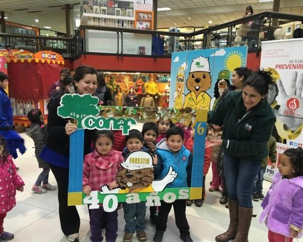 cumpleaños de Forestín en Magallanes