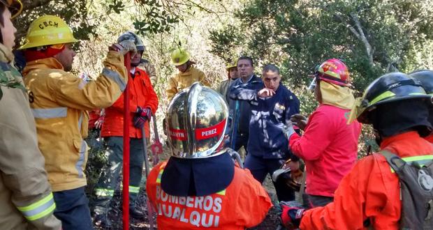 En el primer curso participaron 42 voluntarios de las comunas de Santa Juana, Hualqui, Chiguayante y Hualpén.