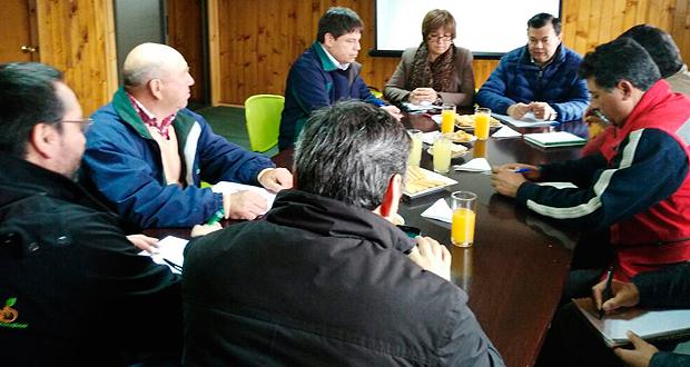La reunión estuvo encabezada por la Gobernadora de la provincia de Cardenal Caro, Teresa Núñez.