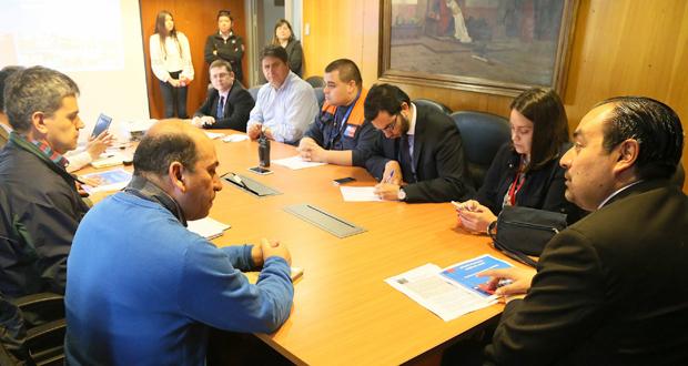 Reunión preventiva de la Mesa Técnica de Incendios Forestales del Biobío.