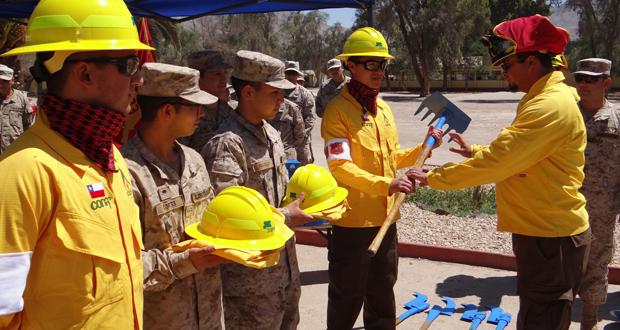 La BRIFE está compuesta por 19 brigadistas que también recibieron el equipamiento necesario para realizar sus funciones.
