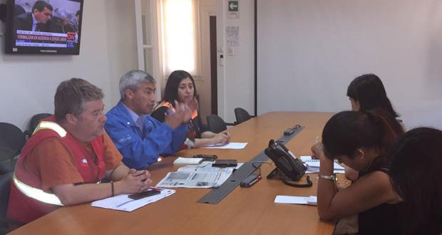 ONEMI y CONAF encabezan un arduo trabajo para extinguir cinco incendios forestales que se han declarado en la región.