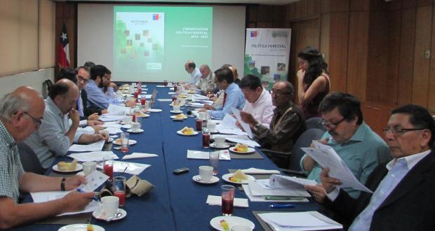 Consejo de Política Forestal sesionó de forma extraordinaria en dependencias del Ministerio de Agricultura.