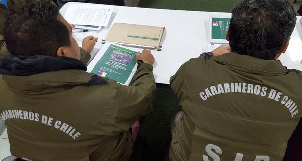 En dependencias de la Primera Comisaría de Concepción se dio inicio a un nuevo ciclo de este curso.