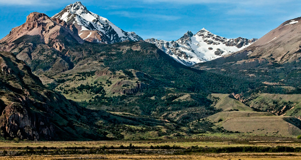 Valle Chacabuco, al interior del Parque Nacional Patagonia.