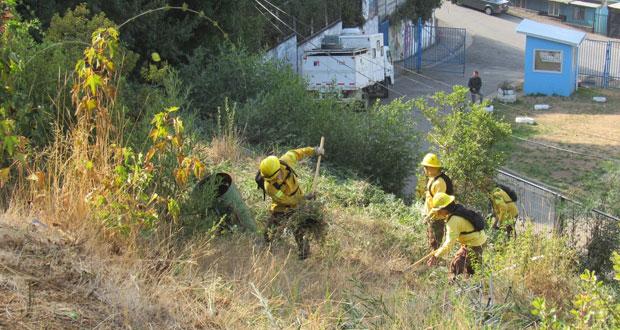 Penco es una de las veinticuatro comunas críticas de ocurrencia de incendios forestales.