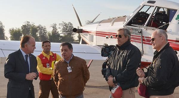 El avión que se envió a Paraguay y que combatirá el fuego en la frontera de este país y Brasil, es un Air Tractor (AT) que se caracteriza por ser una aeronave muy versátil, que trabaja, especialmente, con facilidad de operación en pendientes.