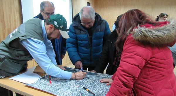 Los talleres se realizaron en quince sectores de la comunas de Concepción, San Pedro de la Paz, Penco, Tomé, Hualqui, Florida, Santa Juana, Lota y Coronel.