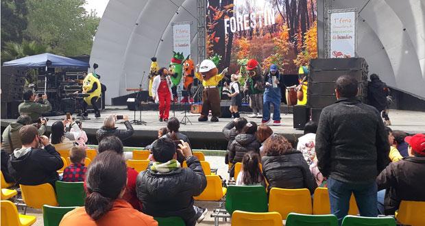 La Primera Feria Comunitaria de Prevención de Incendios Forestales fue desarrollada en el Parque Laguna Grande, en San Pedro de la Paz.