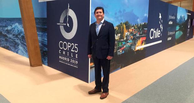 Director ejecutivo de CONAF, José Manuel Rebolledo, realizará una presentación tocando el papel de los bosques y las soluciones al cambio climático basadas en la naturaleza.