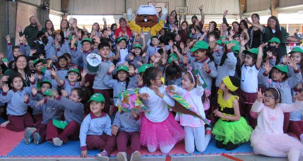 En la Provincia de Biobío, Forestacuentos se ha estado ejecutando en nueve establecimientos educacionales de Laja, Los Ángeles, Mulchén, Cabrero y Yumbel.