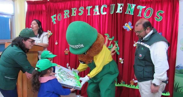 El trabajo de Forestacuentos se ha estado ejecutando provincialmente en Concepción, Hualqui, San Pedro de la Paz, Coronel, Lota, Penco, Tomé, Florida y Santa Juana.