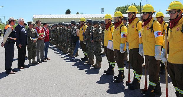 La actividad se realizó en el Regimiento Sangra de Puerto Varas.